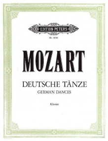 Mozart: German Dances for Piano published by Peters