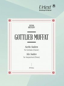 Muffat: Six Suites for Harpsichord (Clavier) Volume 1 published by Breitkopf