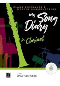 Dickbauer: My Song Diary for Clarinet Book & CD published by Universal