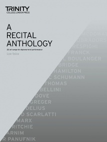 A Recital Anthology Low Voice published by Trinity