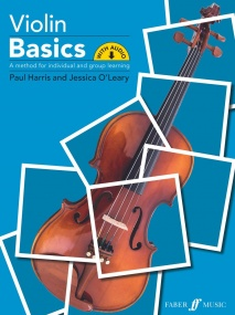 Violin Basics - Pupil Book published by Faber (Book/Online Audio)