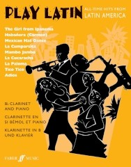 Play Latin for Clarinet published by Faber