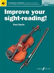 Improve Your Sight Reading Grade 6 Violin published by Faber