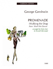 Gershwin: Promenade (Walking the Dog) for Flute Choir published by Emerson