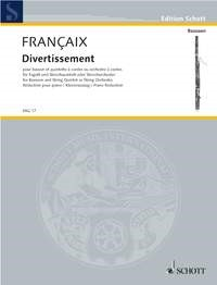 Divertissement by Francaix for Bassoon published by Schott