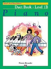 Alfred's Basic Piano Course: Duet Book 1B