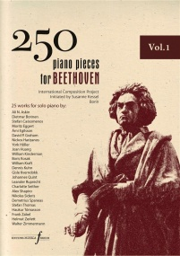 250 Piano Pieces For Beethoven - Volume 1 published by Ferrum