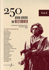 250 Piano Pieces For Beethoven - Volume 3 published by Ferrum
