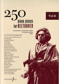 250 Piano Pieces For Beethoven - Volume 6 published by Ferrum