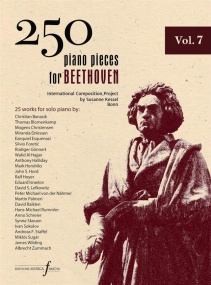 250 Piano Pieces For Beethoven - Volume 7 published by Ferrum
