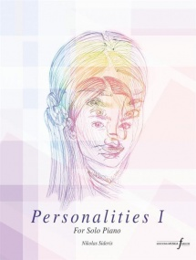 Sideris: Personalities Part 1 for Piano published by Ferrum