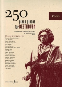 250 Piano Pieces For Beethoven - Volume 8 published by Ferrum