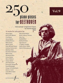 250 Piano Pieces For Beethoven - Volume 9 published by Ferrum