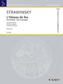 Stravinsky: The Firebird for Flute published by Schott