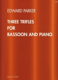 Parker: Three Trifles for Bassoon published by Stainer & Bell