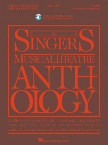 Singers Musical Theatre Anthology 1 Tenor Book & Online Audio published by Hal Leonard