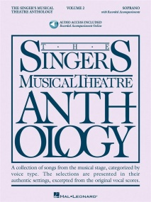 Singers Musical Theatre Anthology 2 Soprano Book & Online Audio published by Hal Leonard