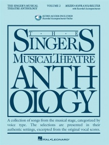Singers Musical Theatre Anthology 2 Mezzo Soprano Book & Online Audio published by Hal Leonard