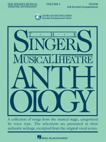 Singers Musical Theatre Anthology 2  Tenor Book & Online Audio published by Hal Leonard