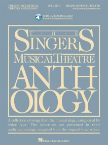 Singers Musical Theatre Anthology 3 Mezzo-soprano Book & CD published by Hal Leonard