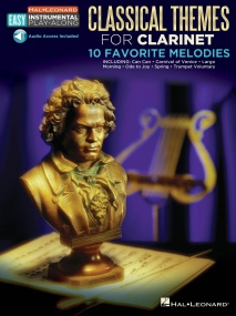 Classical Themes - Clarinet published by Hal Leonard (Book/Online Audio)