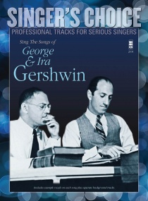 Sing the Songs of George & Ira Gershwin published by Hal Leonard (Book & CD)