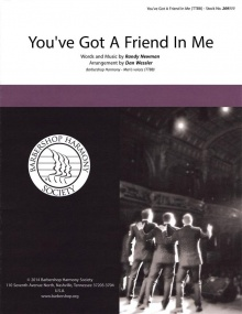 You've Got a Friend in Me (Toy Story) TTBB published by Barbershop Harmony Society