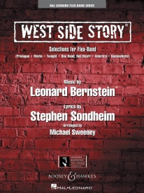 Bernstein: West Side Story for Flex Band arr Sweeney published by Hal Leonard