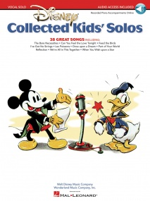 Disney: Collected Kids' Solos published by Hal Leonard (Book/Online Audio)