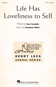 DiOrio: Life Has Loveliness to Sell 2pt published by Hal Leonard