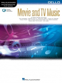 Movie and TV Music - Cello published by Hal Leonard (Book/Online Audio)
