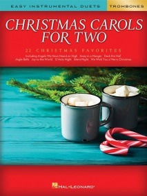 Christmas Carols for Two Trombones published by Hal Leonard