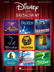 Disney On Broadway PVG published by Hal Leonard