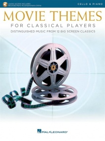 Movie Themes for Classical Players - Cello published by Hal Leonard (Book/Online Audio)