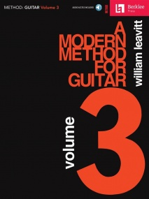 A Modern Method For Guitar: Volume 3 published by Hal Leonard (Book/Online Audio)
