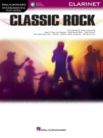 Classic Rock - Clarinet published by Hal Leonard (Book/Online Audio)