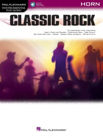 Classic Rock - Horn published by Hal Leonard (Book/Online Audio)