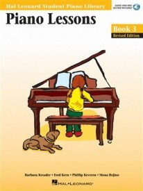 Hal Leonard Student Piano Library: Lessons 3 Book & Online Audio