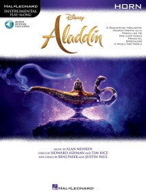 Aladdin for Horn published by Hal Leonard (Book/Online Audio)
