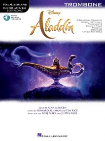 Aladdin for Trombone published by Hal Leonard (Book/Online Audio)