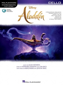 Aladdin for Cello published by Hal Leonard (Book/Online Audio)