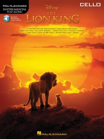 The Lion King (2019) for Cello published by Hal Leonard (Book/Online Audio)