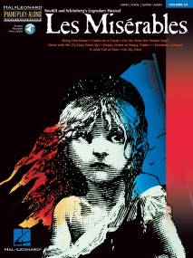 Piano Play-Along Volume 24: Les Miserables published by Hal Leonard (Book/Online Audio)