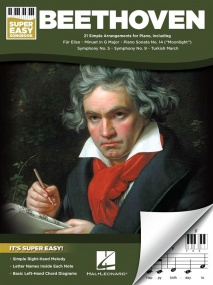 Beethoven: Super Easy Songbook for Piano published by Hal Leonard