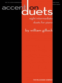 Gillock: Accent On Duets for Piano published by Willis