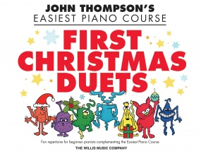 John Thompson's Easiest Piano Course: First Christmas Duets