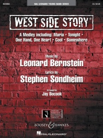 Bernstein: West Side Story Medley for Young Band published by Hal Leonard