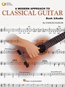 A Modern Approach To Classical Guitar 3 published by Hal Leonard (Book & Online Audio)