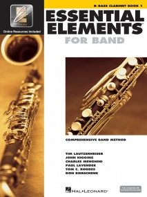 Essential Elements for Band - Book 1 with EEi for Bb Bass Clarinet published by Hal Leonard