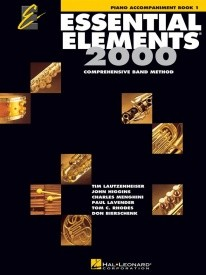 Essential Elements 2000 Book 1 - Piano Accompaniment published by Hal Leonard